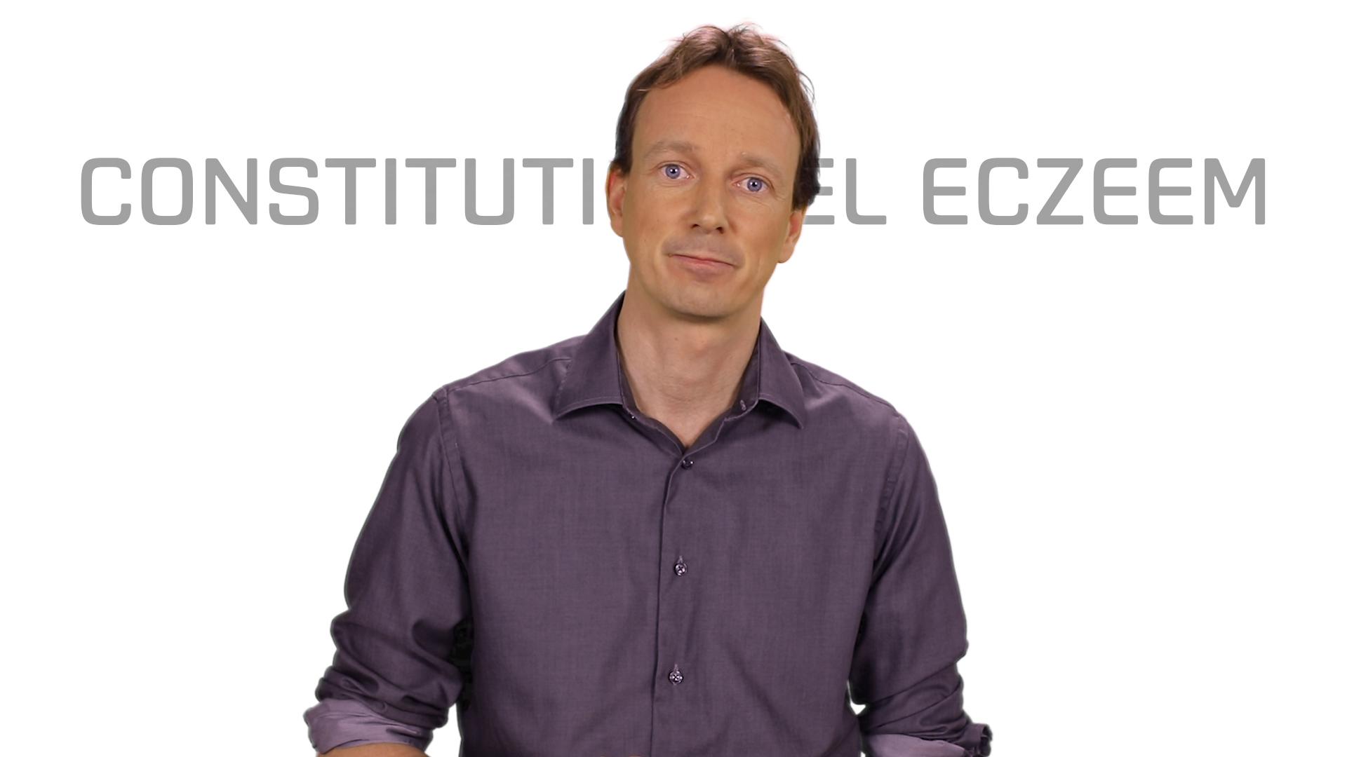 Bekijk de video: Constitutioneel eczeem