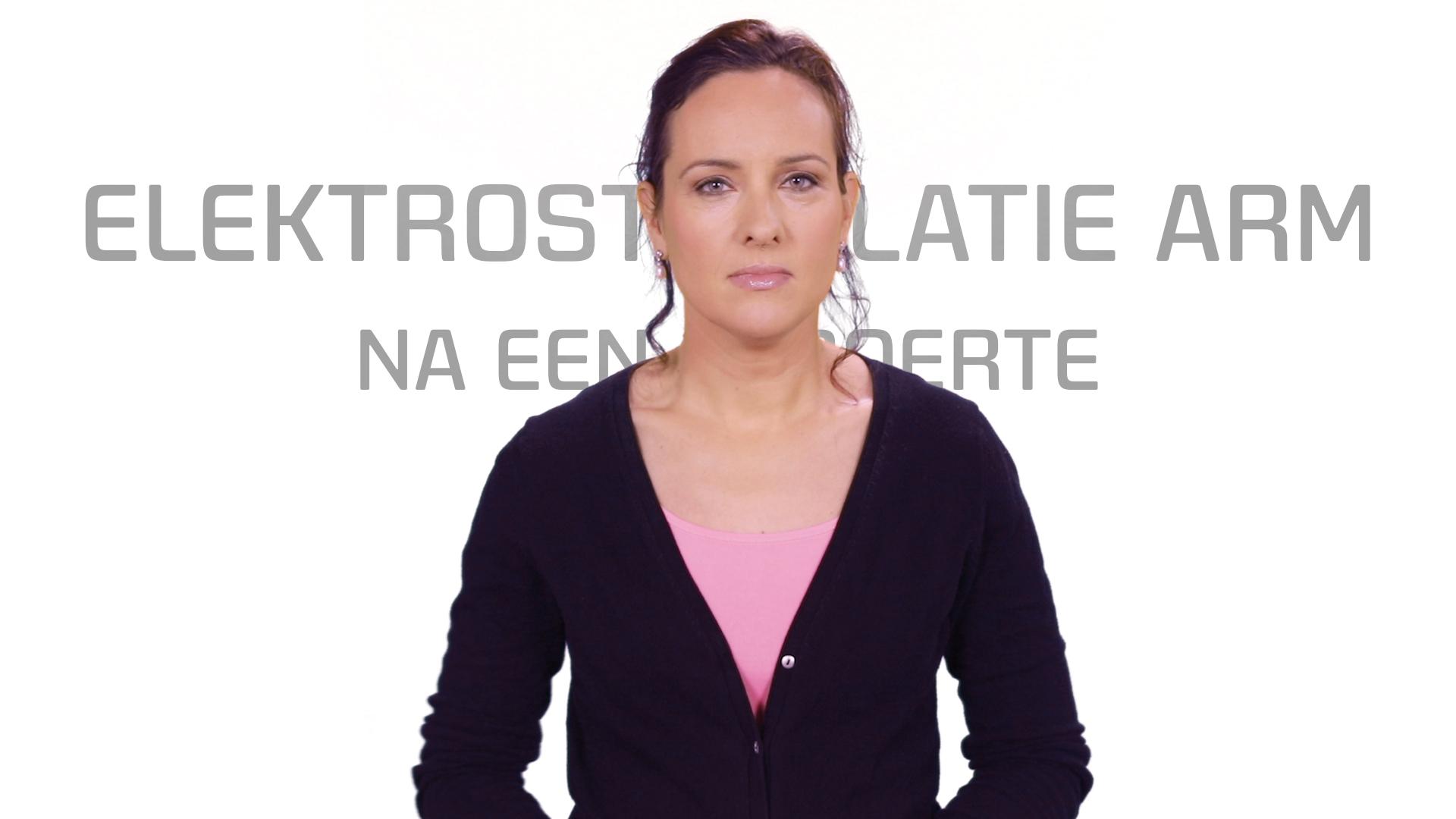 Bekijk de video: Elektrostimulatie arm na een beroerte