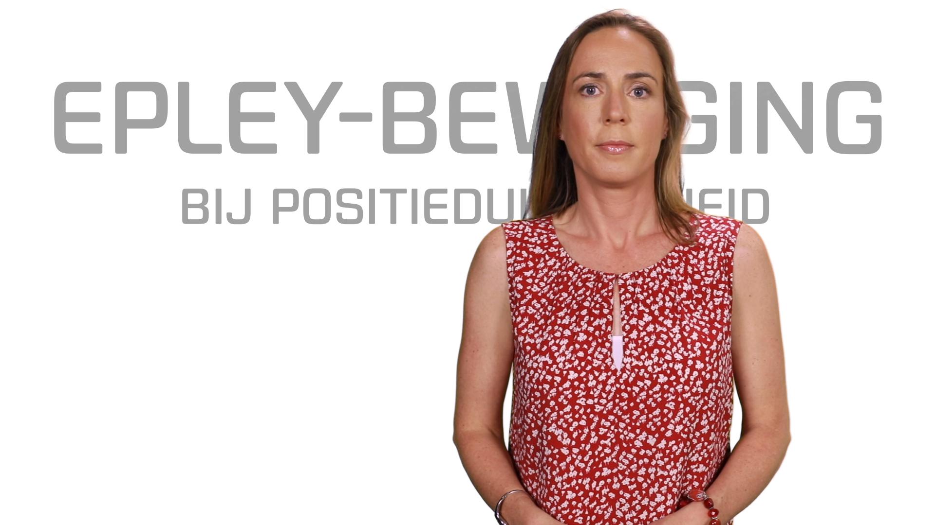 Bekijk de video: Epley oefeningen