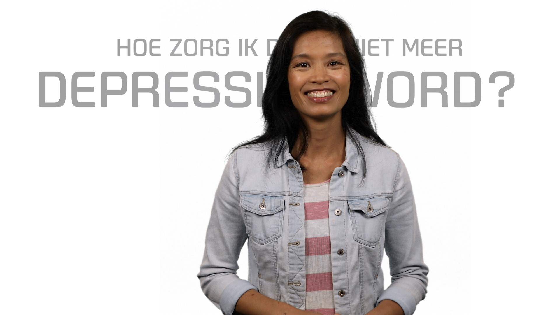 Bekijk de video: Depressie, voorkom terugval