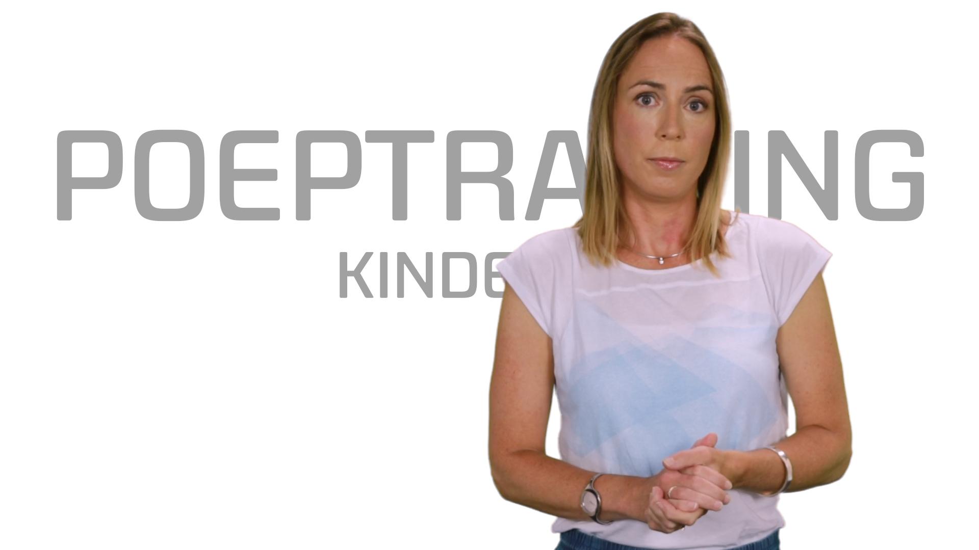 Bekijk de video: Poeptraining kinderen
