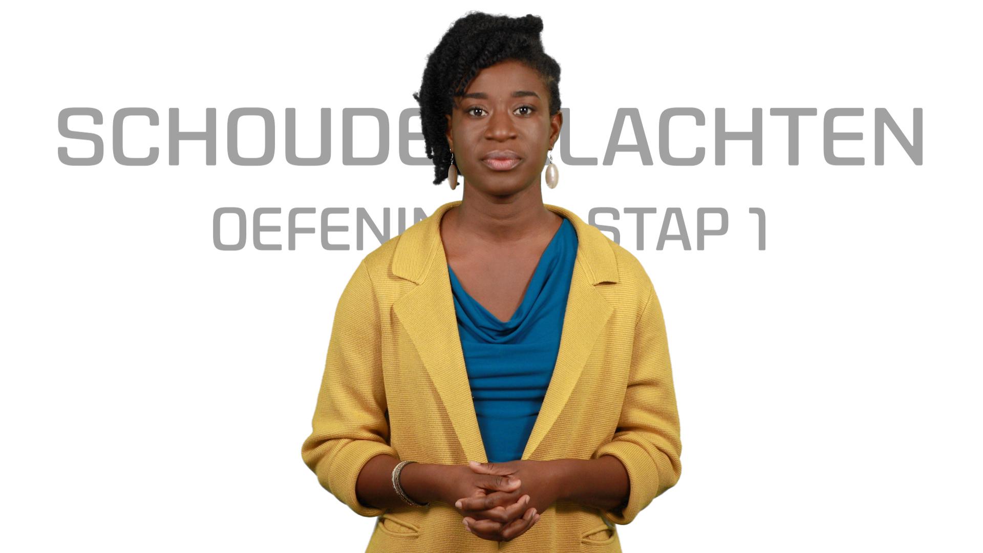 Bekijk de video: Schouderklachten Oefeningen STAP 1