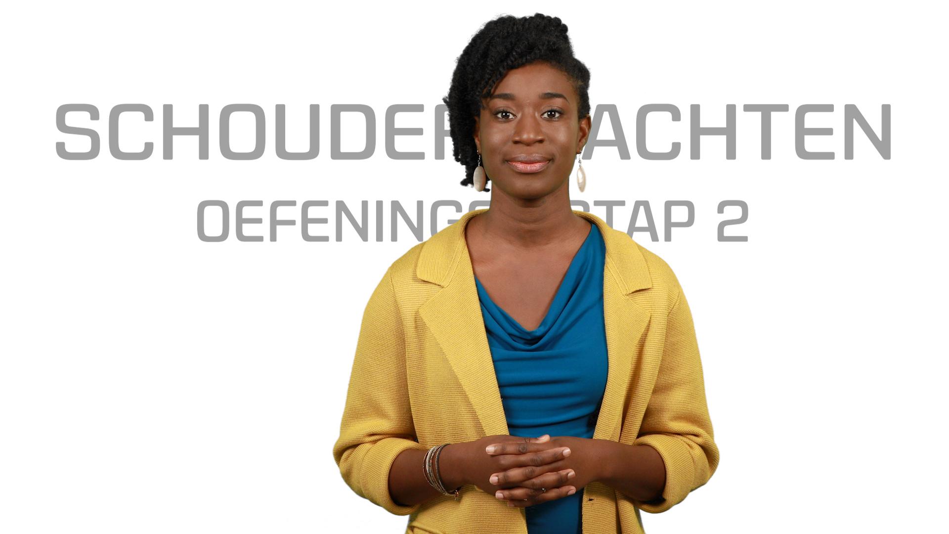 Bekijk de video: Schouderklachten Oefeningen STAP 2