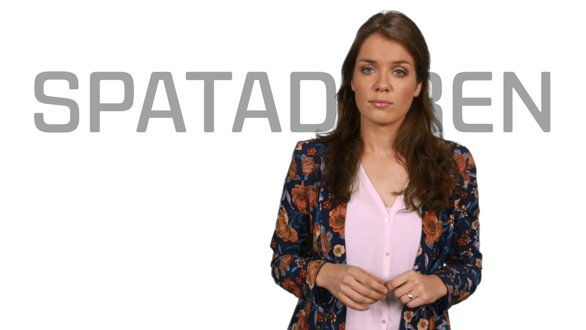 Bekijk de video: Spataderen
