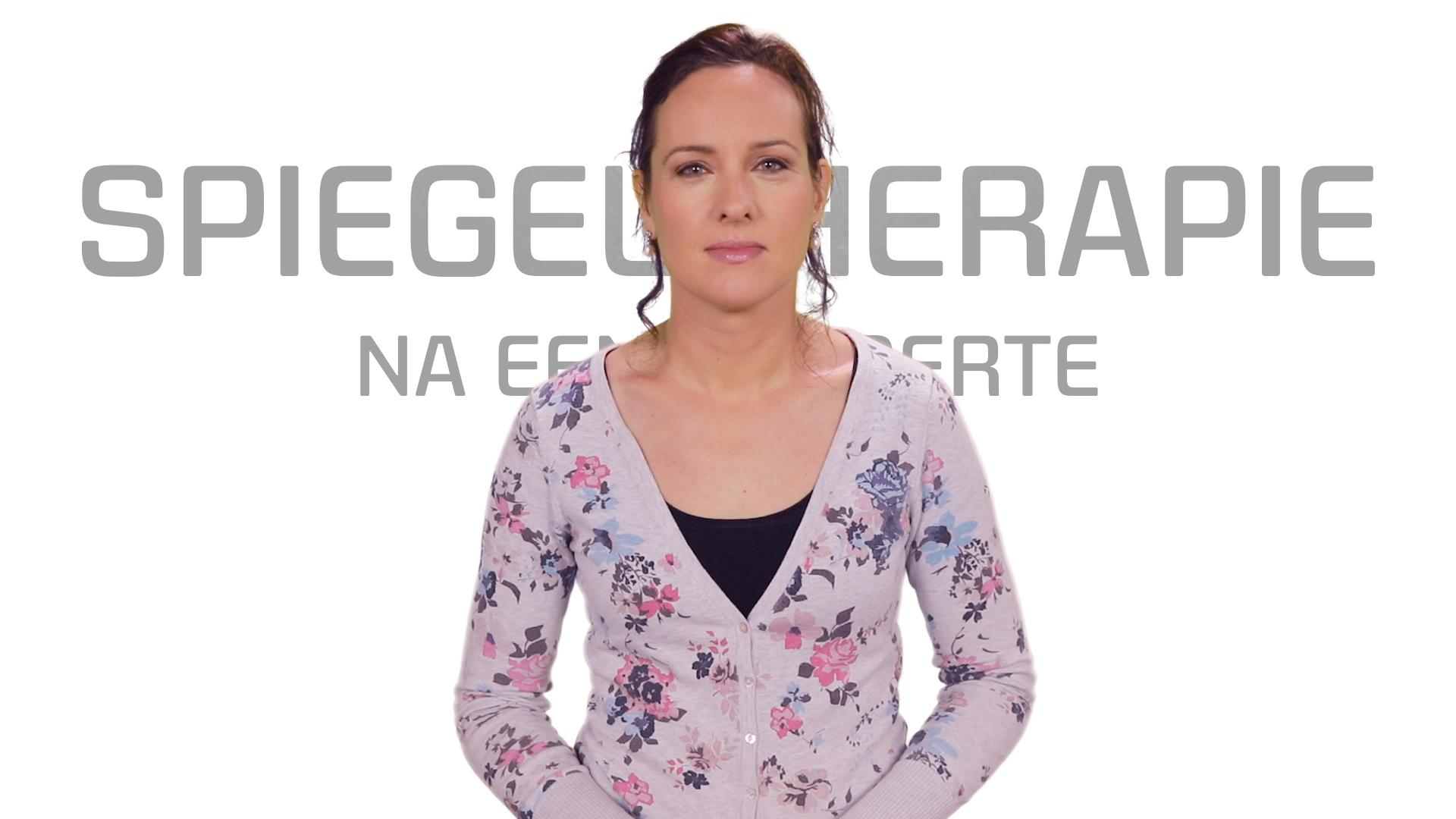 Bekijk de video: Spiegeltherapie na een beroerte