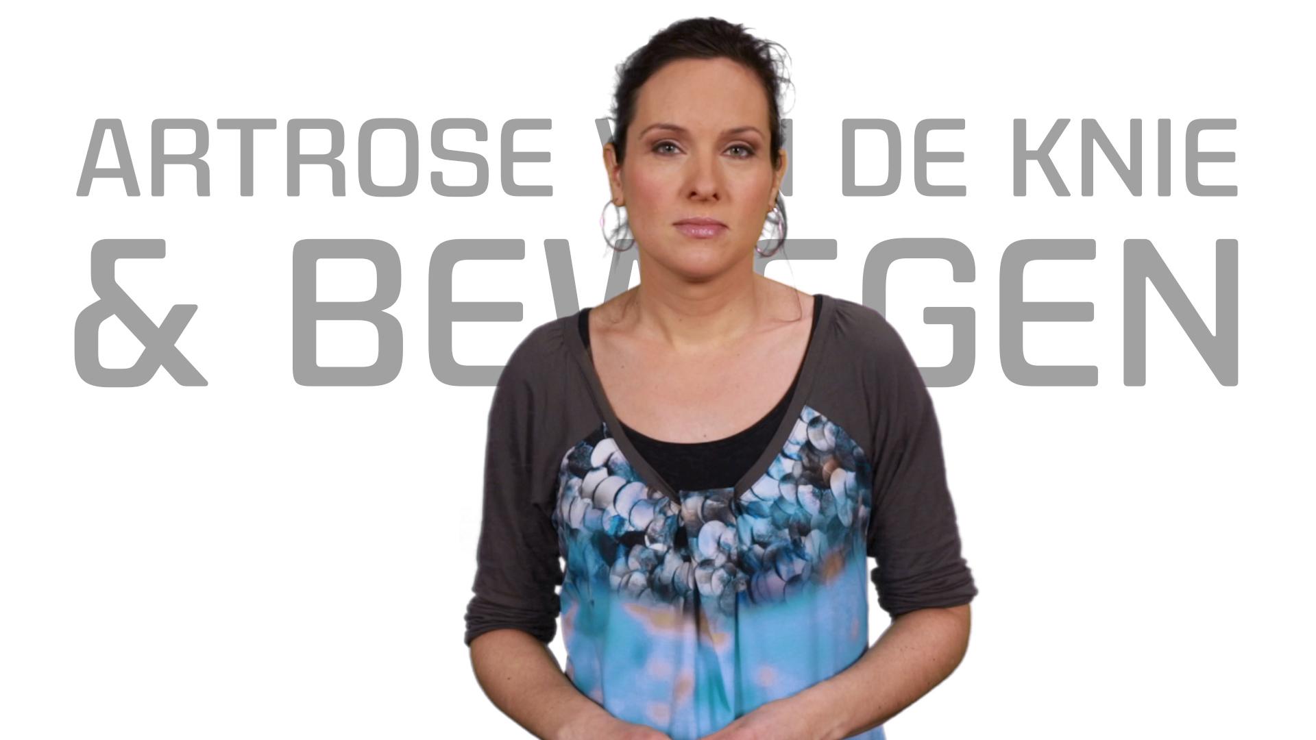 Bekijk de video: Artrose van de knie en bewegen
